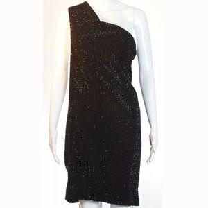 Haute Hippie Beaded Dress Size XS NWT Silk